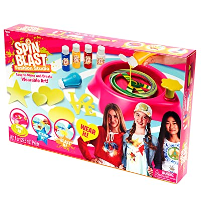 Far Out Toys Spin Blast Fashion Studio, Multi: Toys & Games