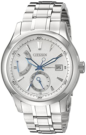 ff3a80b1c Citizen Men's NB3010-52A Citizen Signature Grand Classic Analog Display  Japanese Automatic Silver Watch