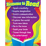"""Trend Enterprises Reasons To Read Learning Chart (1 Piece), 17"""" x 22"""""""