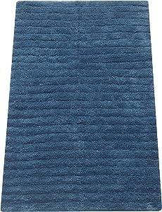 Chardin Home 100% Cotton Bathroom Rug with Latex Spray Non-Slip Backing, Bath tub Kitchen entryway mat 20