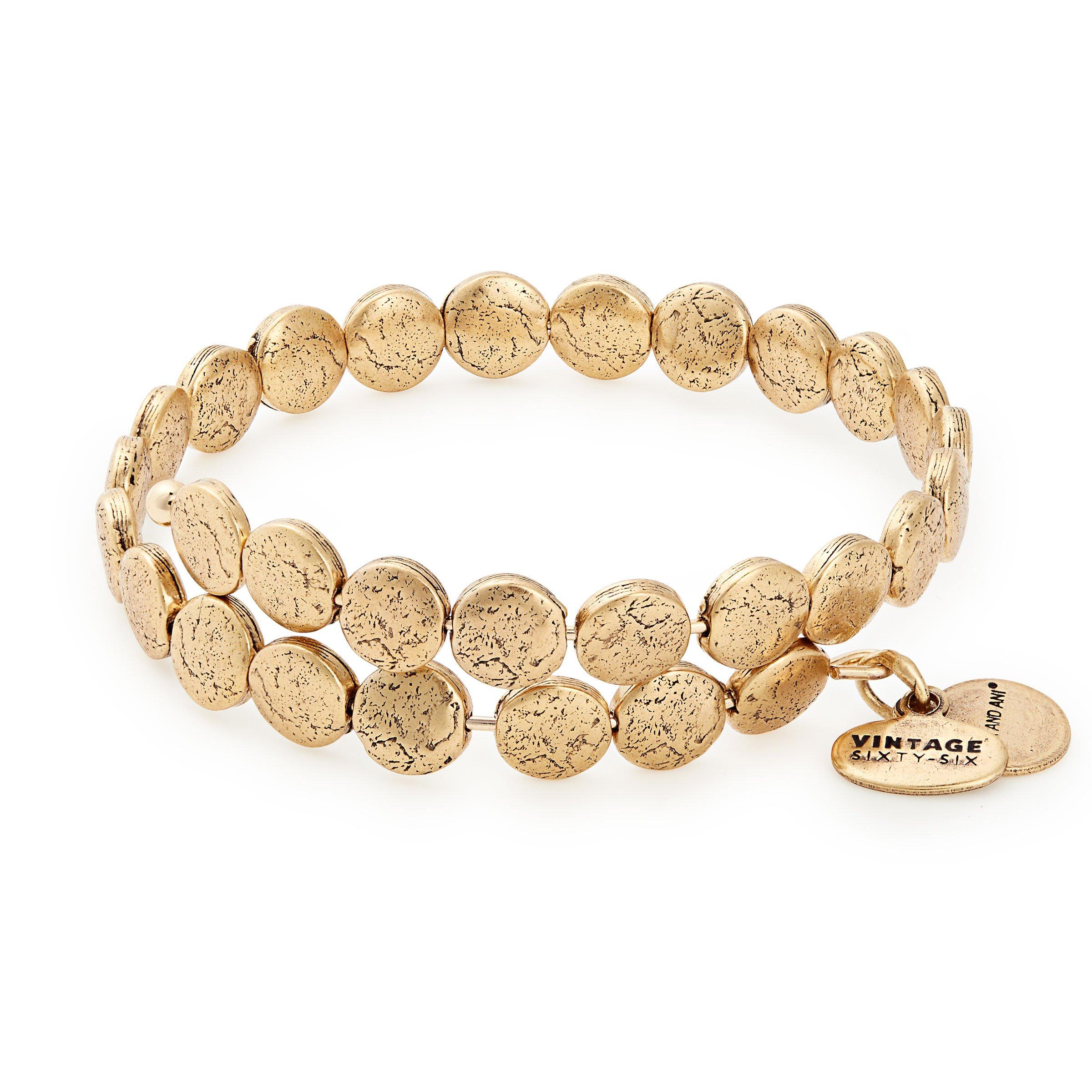 Alex and Ani Women's Coin Wrap Bracelet, Rafaelian Gold by Alex and Ani