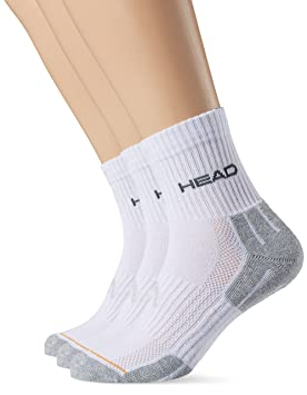 Head Socke Performance, Calcetines para Hombre, Blanco/Gris, Pack de 3: Amazon.es: Deportes y aire libre