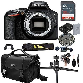 Nikon D3500 Cuerpo de cámara DSLR (sin Lente) + Tarjeta de ...