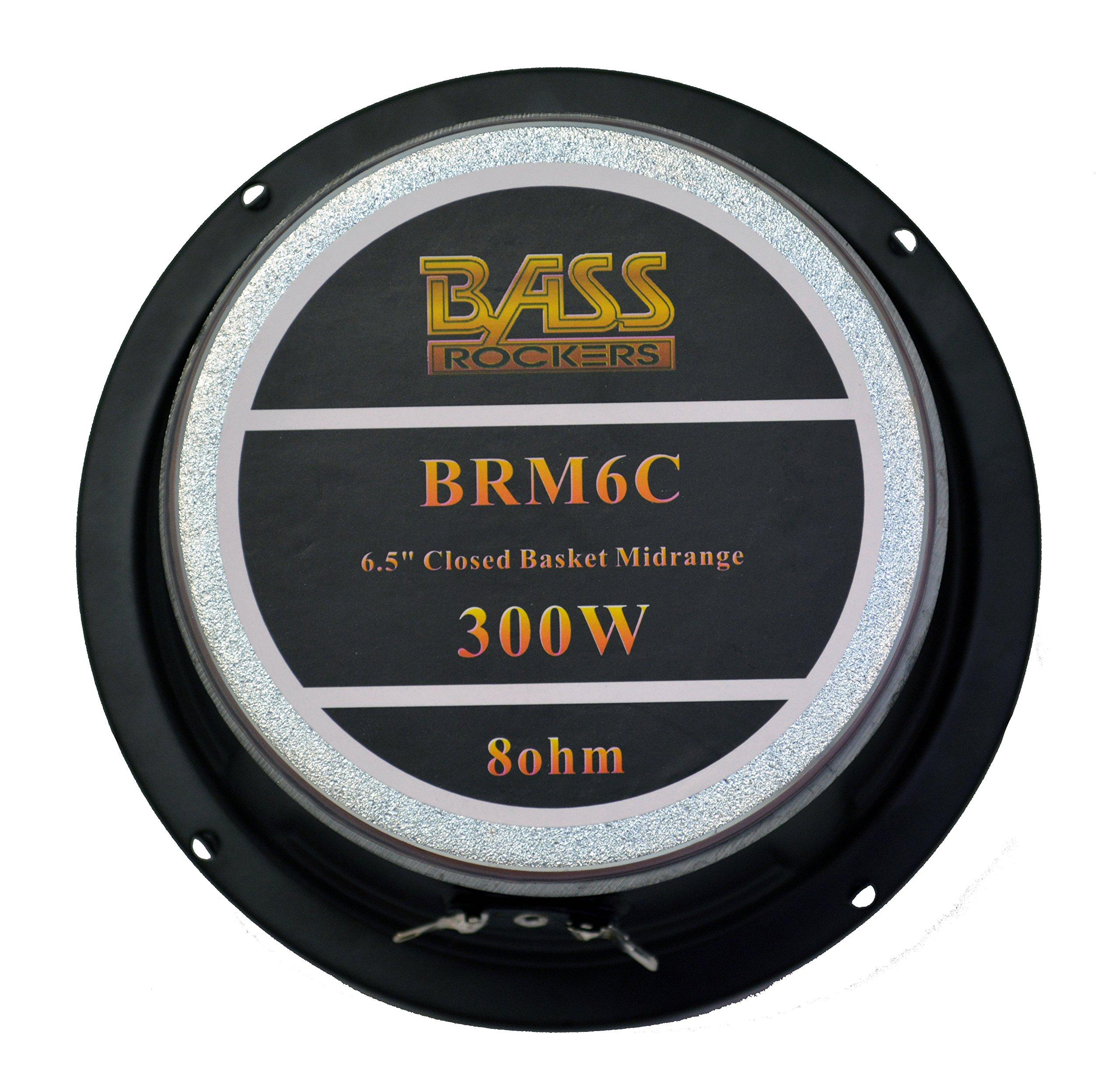 Bass Rockers 6.5'' 300W Closed Basket Mid-Range Speaker (BRM6C) by Bassrockers.net (Image #4)