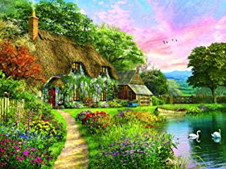 product image for Sunset Country Cottage 1000 Piece Jigsaw Puzzle by SunsOut
