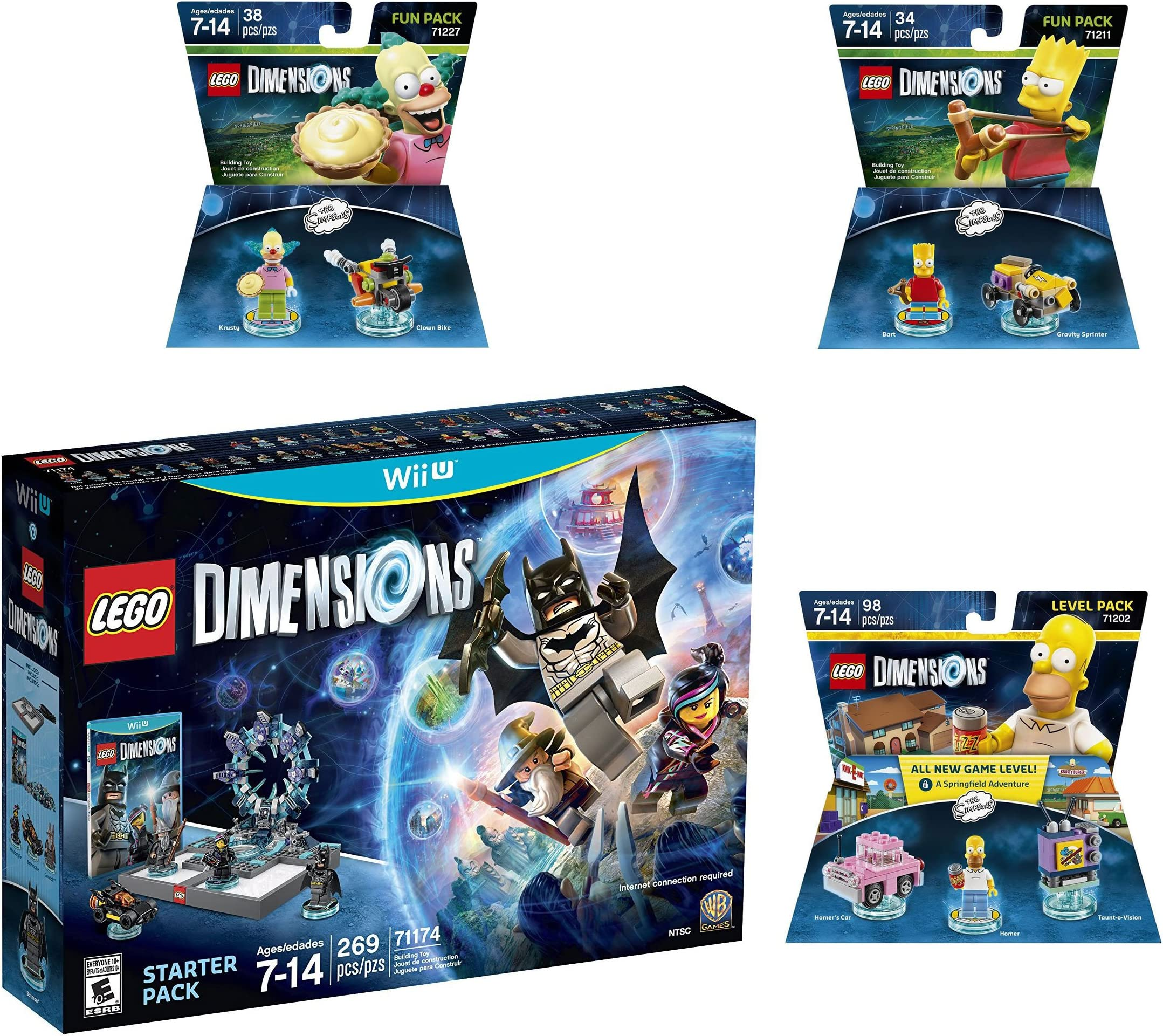 Amazon.com: Lego Dimensions Starter Pack + The Simpsons ...