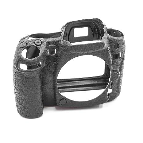 vhbw cámara Cubierta Bolsa Silicona Negro para Nikon D90 ...