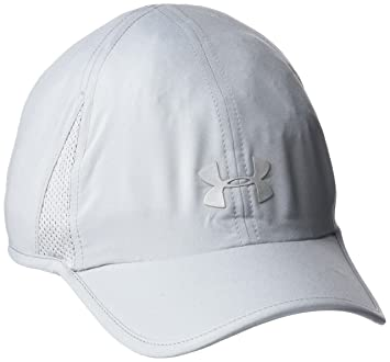 Under Armour Shadow Cap 2.0 Gorra, Mujer, Gris, Talla única: Amazon.es: Deportes y aire libre
