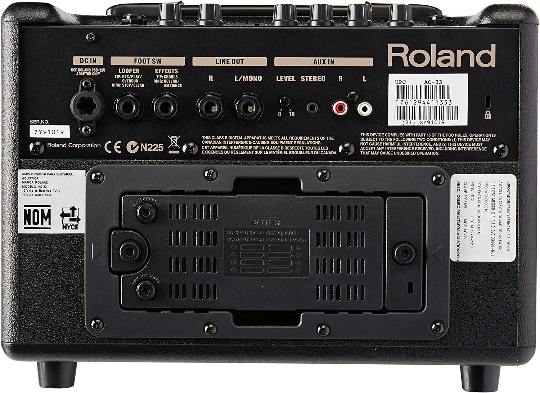 AC-33(M) - Amplificador guitarra acústica Roland AC-33: Amazon.es ...