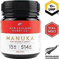New Zealand Honey Co. Raw Manuka Honey UMF 15+ | MGO 514+, 250g