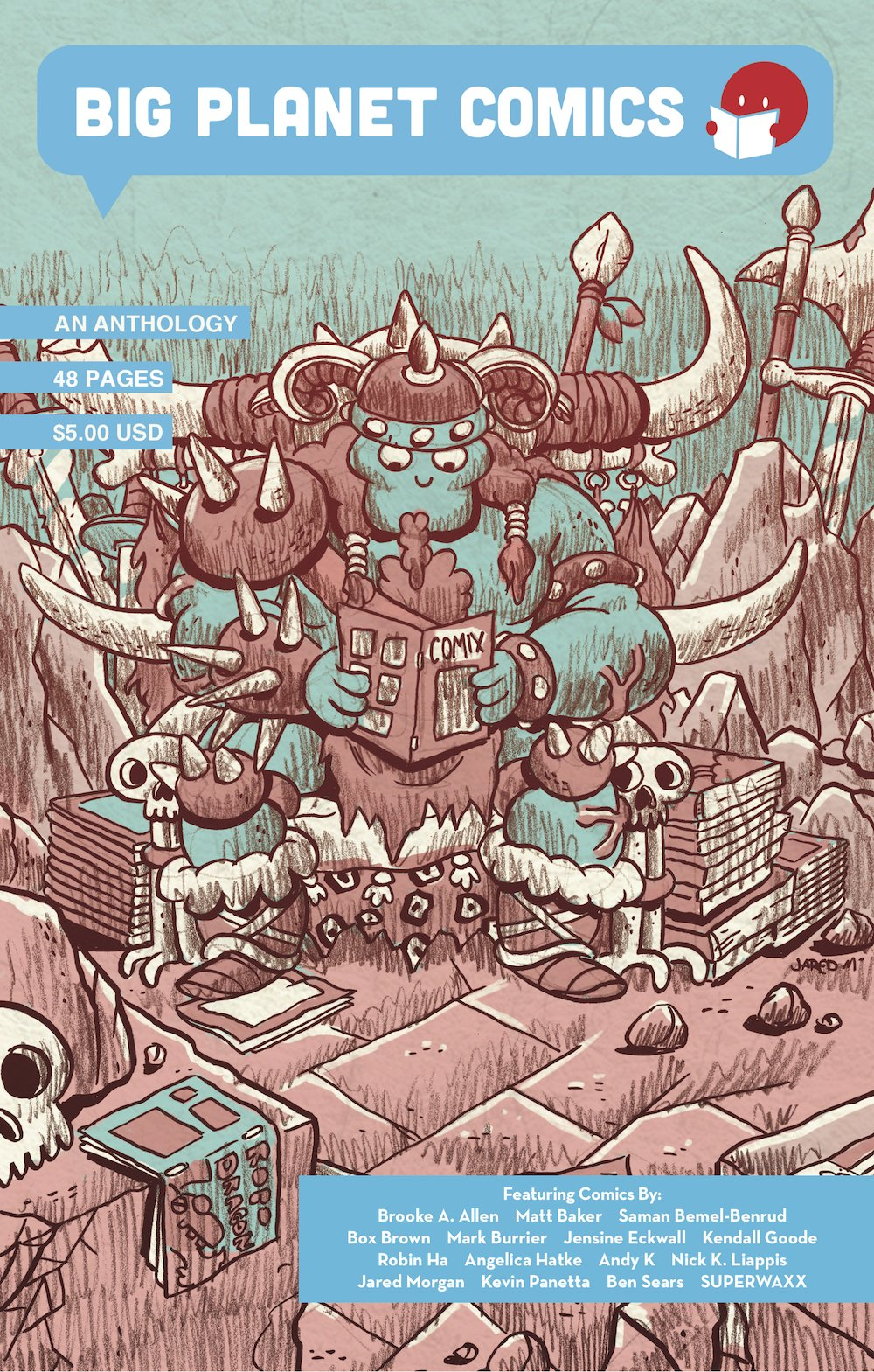 Download Big Planet Comics Blue pdf
