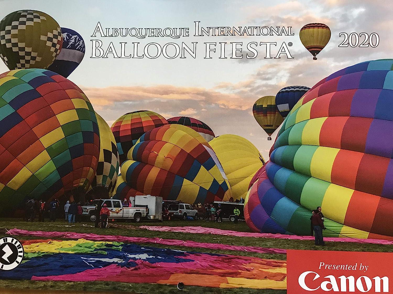 New Mexico Balloon Festival 2020.Albuquerque International Balloon Fiesta 2020 Wall Calendar Official Edition