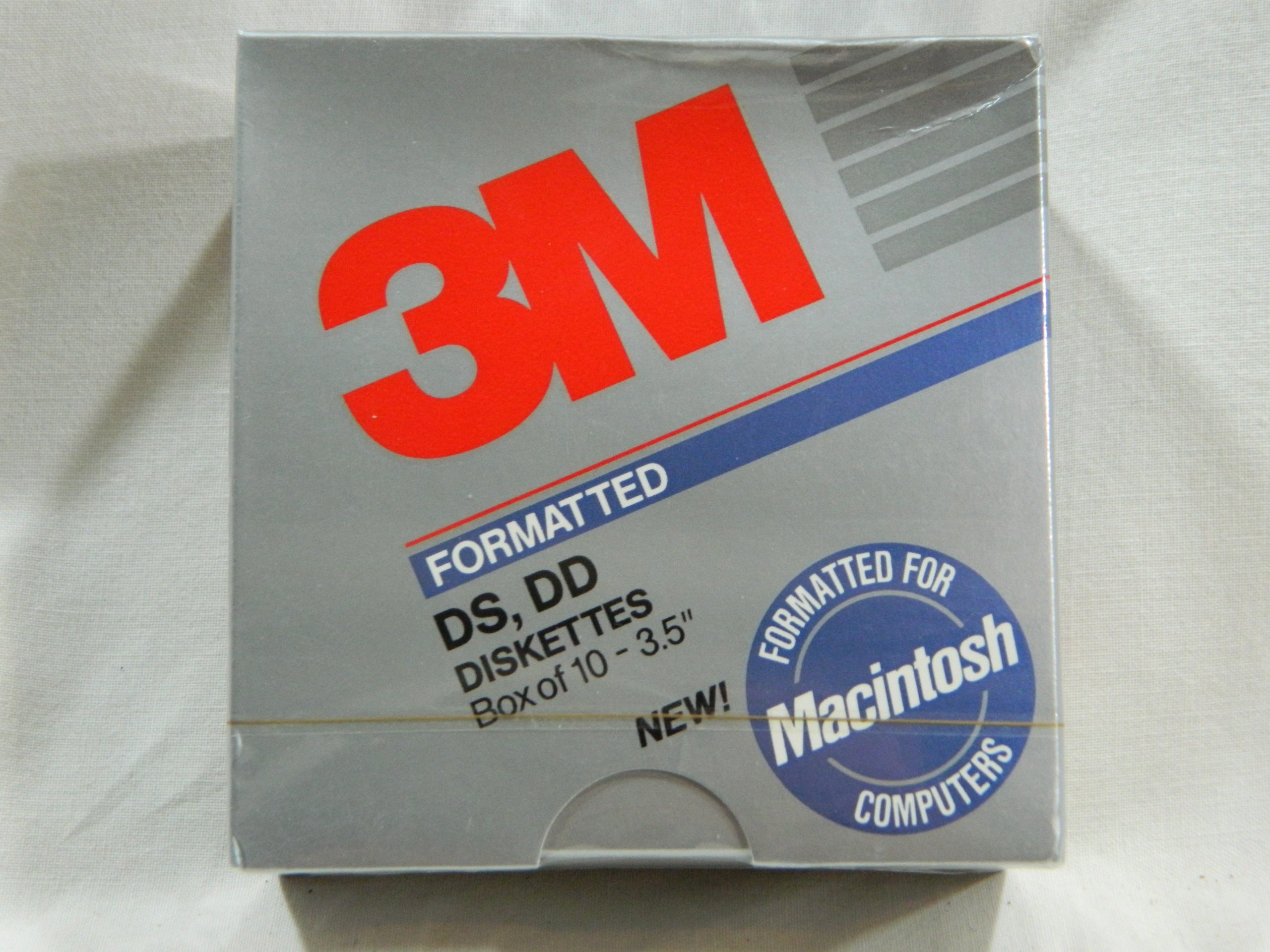 Imation 3m Macintosh Formatted Double Density 3.5'' Diskettes Pack of 10
