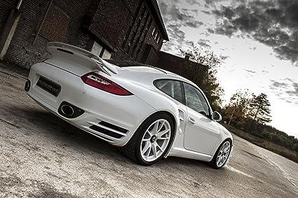 Clásico y músculo anuncios de coche y COCHE arte Porsche 911 (997) Turbo S