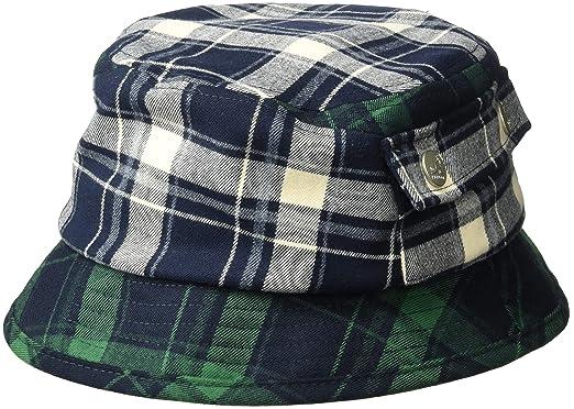 d3d1d7af5f0f68 Kangol Men's Plaid Bucket Hat: Amazon.co.uk: Clothing