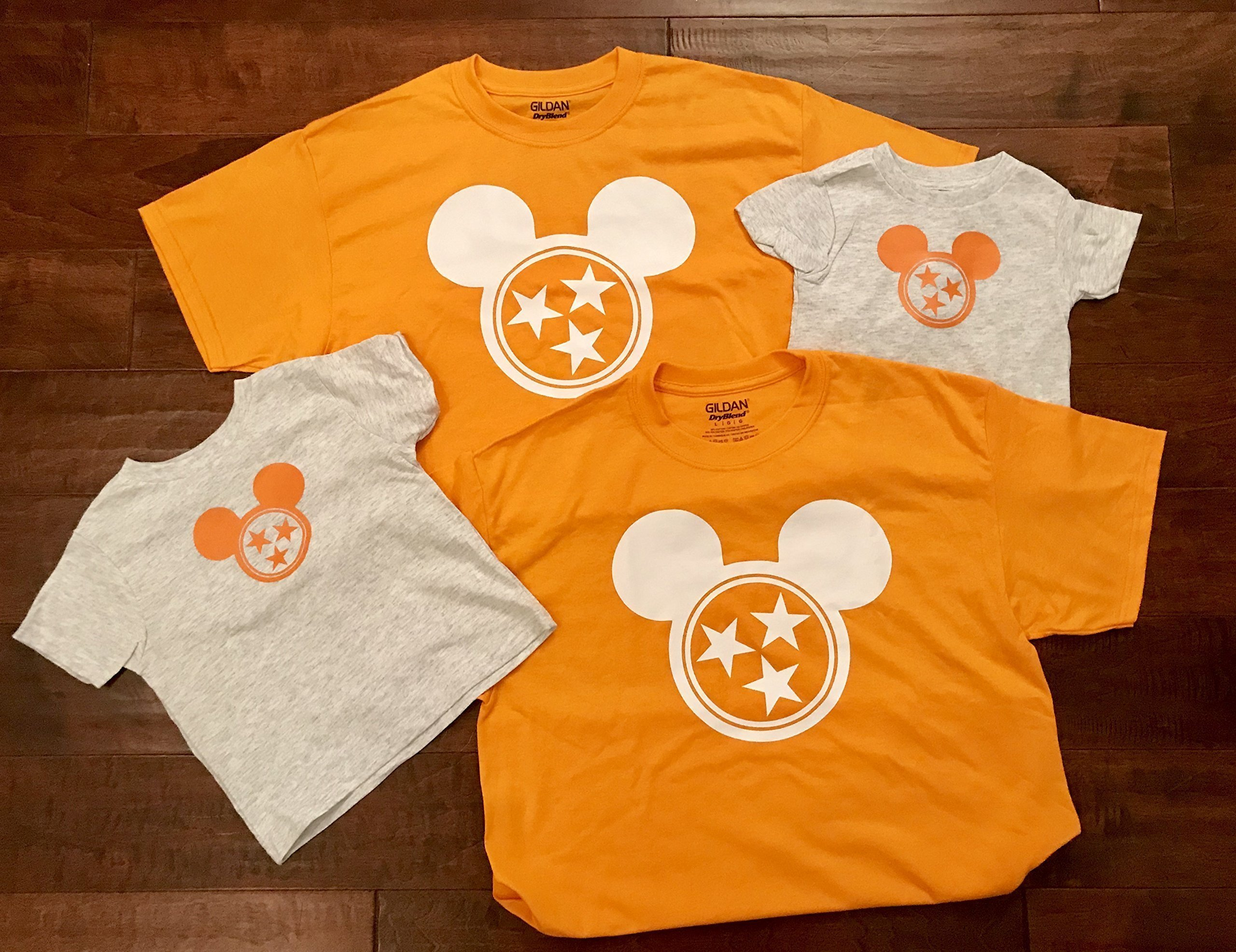 Tennessee Mickey Mouse Shirt - Adult Sizes