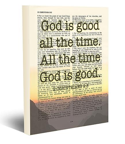 Amazoncom God Is Good All The Time 2 Corinthians 98 Vintage