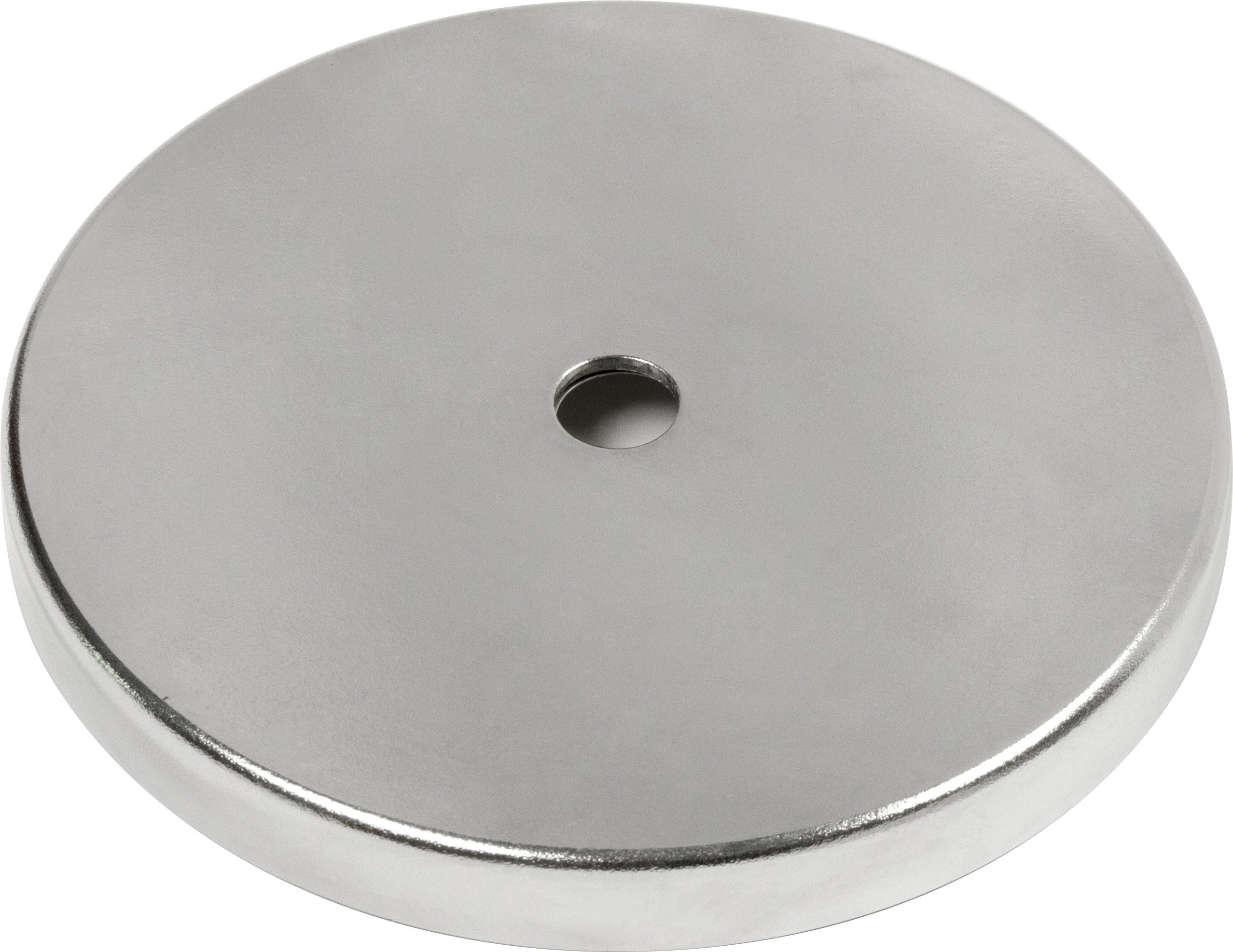 MAG-MATE MX3000 Ceramic Magnet in a Plated Cup, 3.18''/48 lb