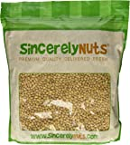 Sincerely Nuts Soybeans (Soy Nuts) Roasted & Salted - Five Lb. Bag - Exquisite Crunchy Taste - Kosher Certified