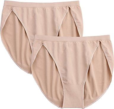 Girls Womens Ballet Briefs Tan Seamless Dance Underwear