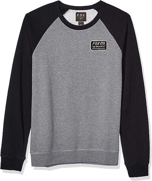 Fox Herren Resin Crew Fleece Sweatshirt: : Bekleidung