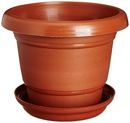 Pot Trays Gardening Easy gardening size 6 gardening pots trays terracotta color easy gardening size 6 gardening pots trays terracotta color planter pack of twelve workwithnaturefo
