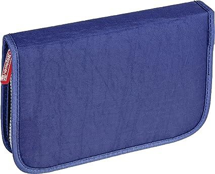 Brunnen – Estuche Crinkle Colores estuche vacío con 1 tapa color azul: Amazon.es: Oficina y papelería