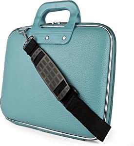 "Blue Laptop Carrying Case Bag for HP EliteBook Elite x2 Envy ProBook Spectre x360 Stream ChromeBook 11"" to 12 inch"