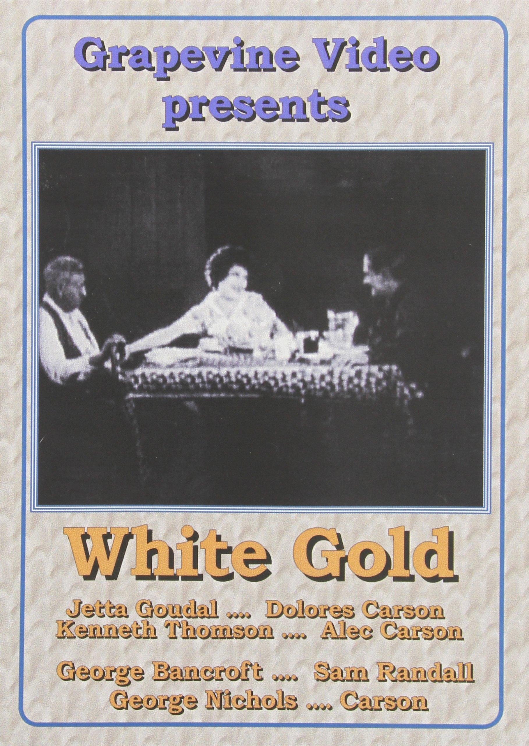 DVD : White Gold (Black & White, Silent Movie)