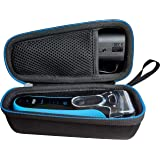Hard Case for Braun Series 3 ProSkin 3040 3080 3000 Men's Electric Foil Shaver Wet and Dry Rechargeable and Cordless Razor by LAVSS