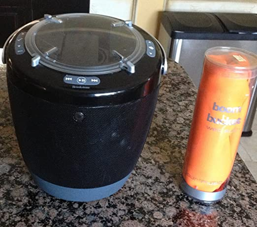 Review Brookstone BoomBucket Portable Music