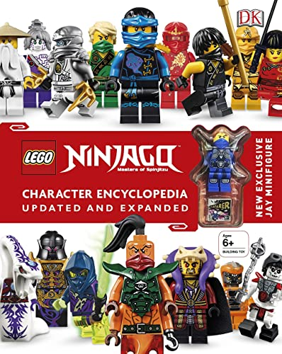 LEGO� Ninjago Character Encyclopedia Updated and Expanded: With Minifigure