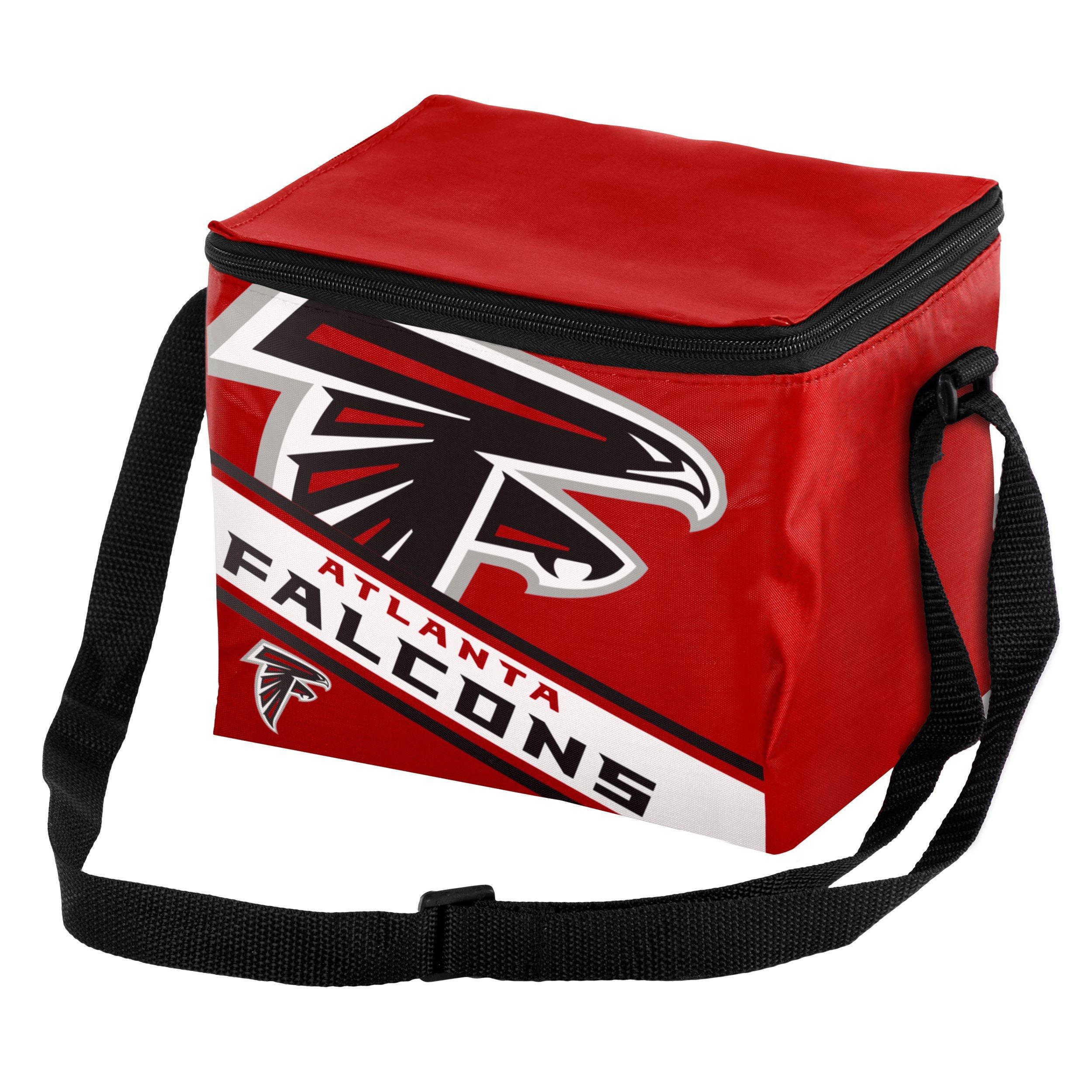 Atlanta Falcons Big Logo Stripe 6 Pack Cooler