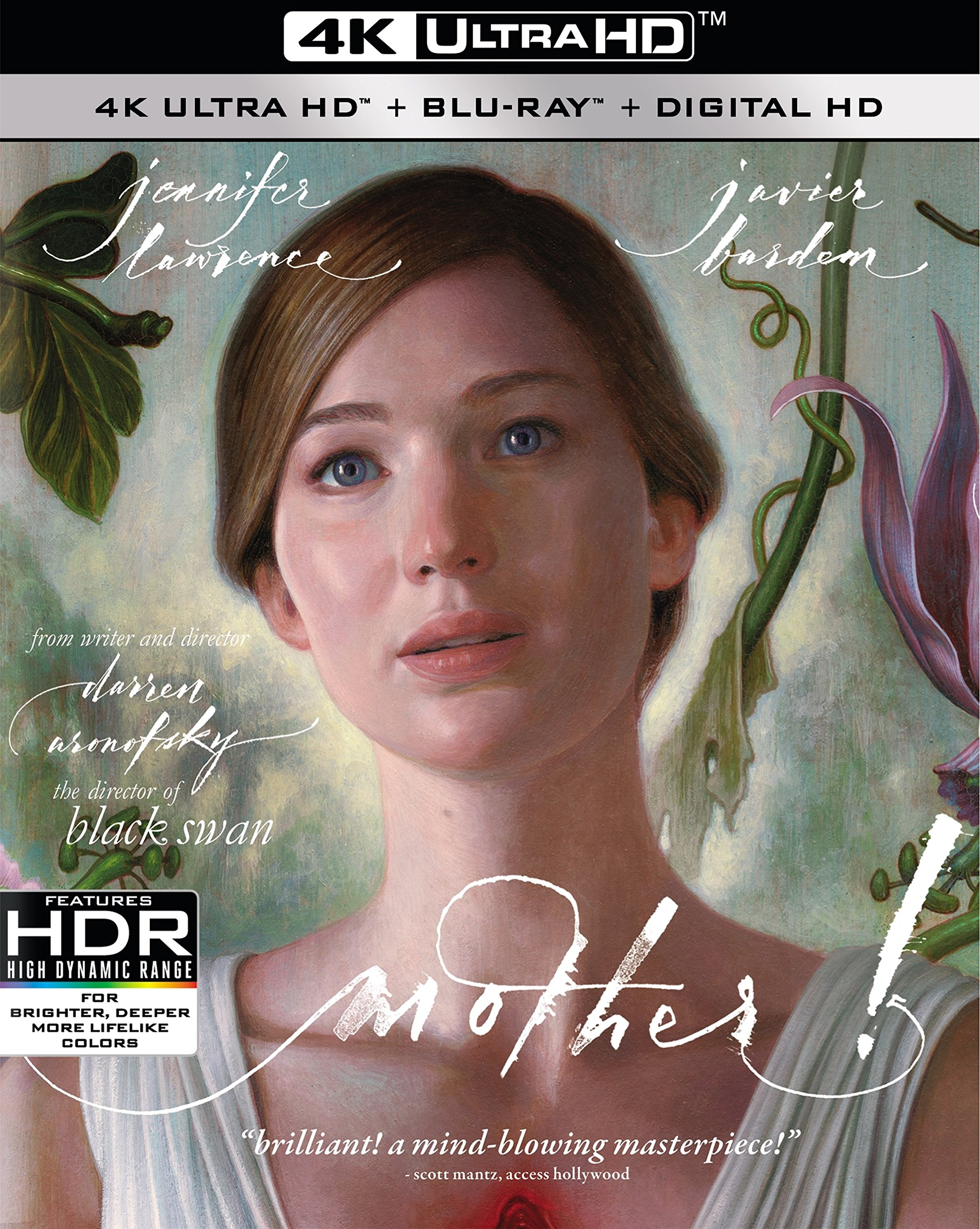4K Blu-ray : Mother! (4K Mastering, Dolby, AC-3, 2 Pack, Widescreen)
