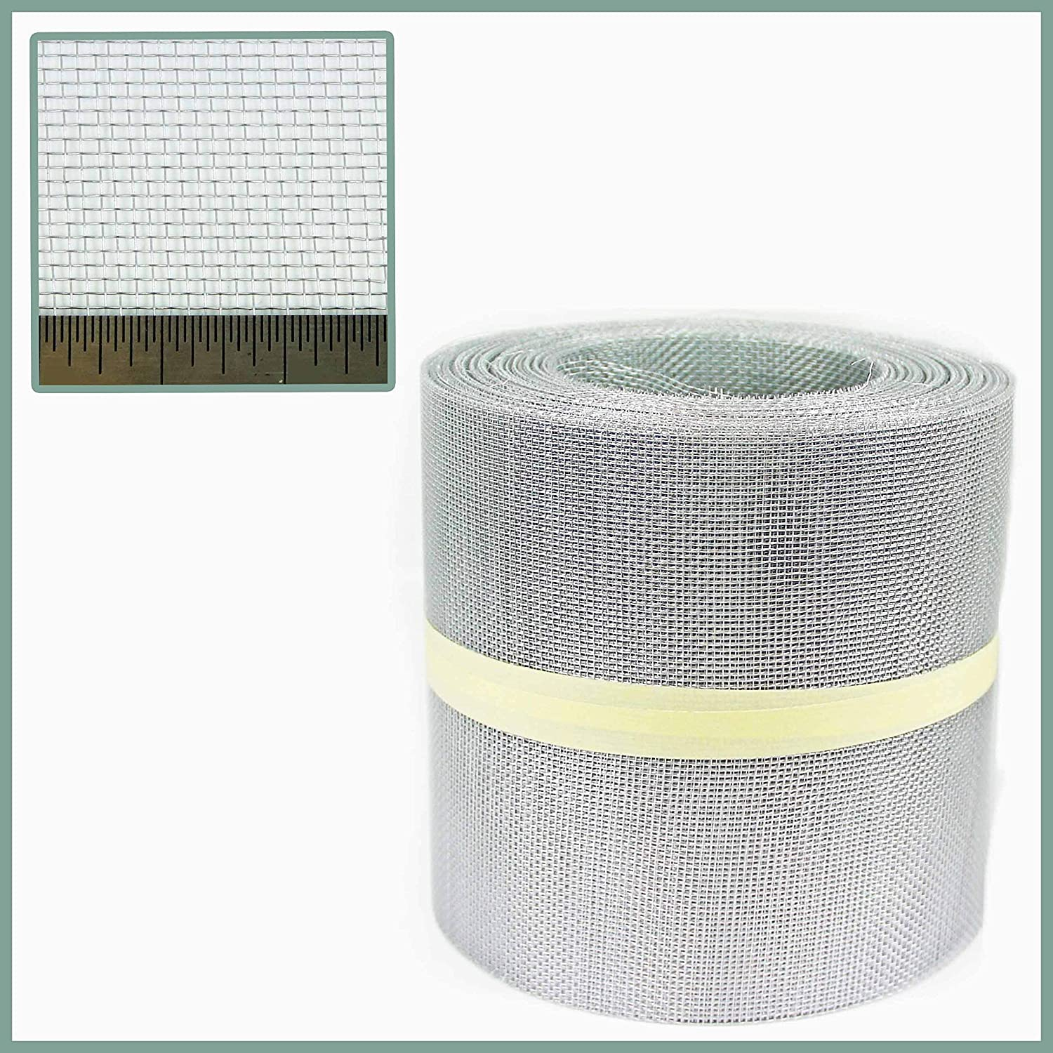 Aluminium Insect Mesh - 100mm x 10 Metre Roll The Mesh Company