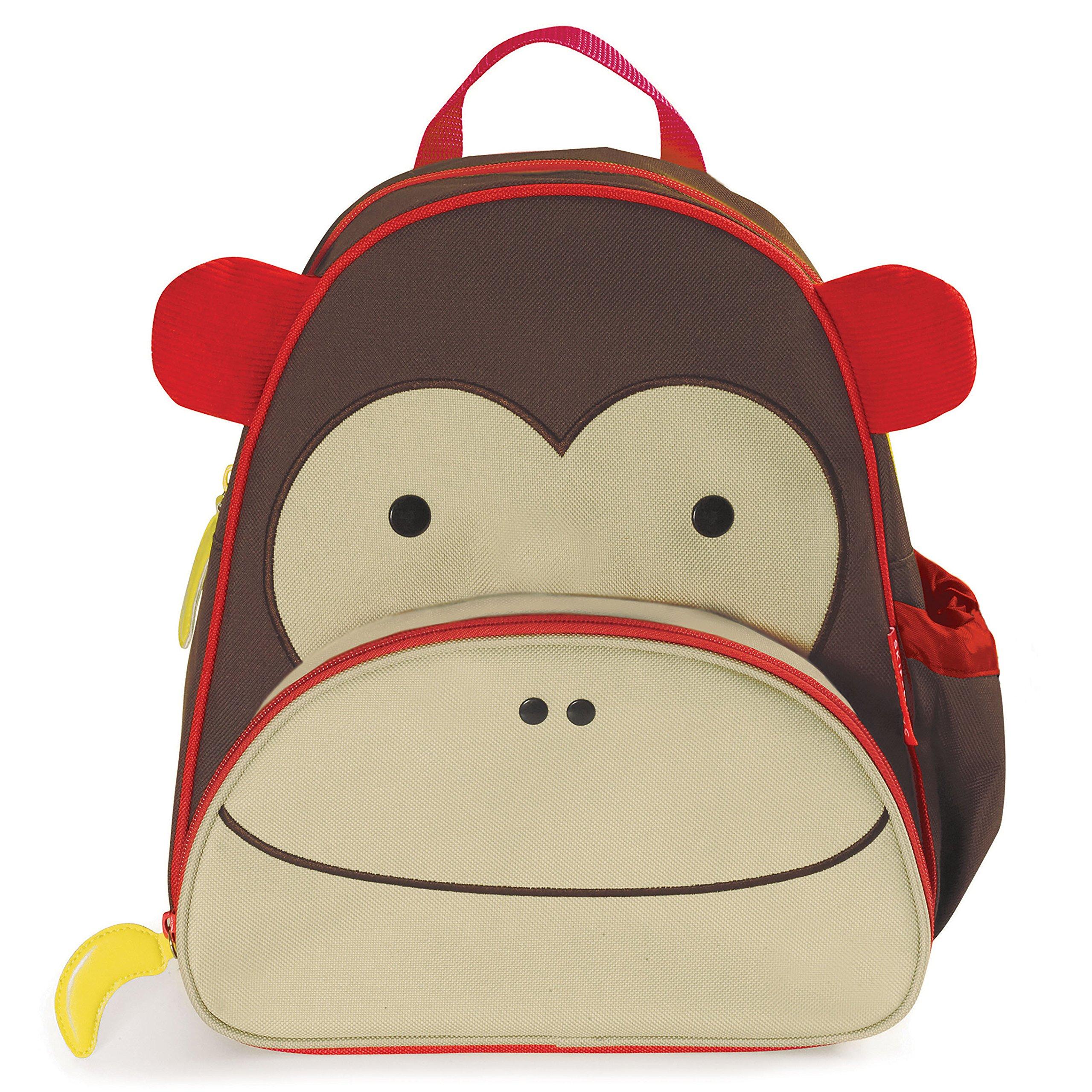 Zoo Toddler Backpack Marshall Monkey, 12'' School Bag, by Skip Hop (Image #4)
