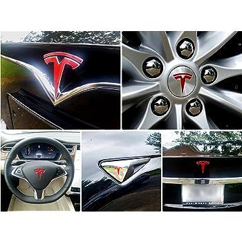 good EV Wraps Tesla Model 3 Frunk Logo Decal (Matte Deep