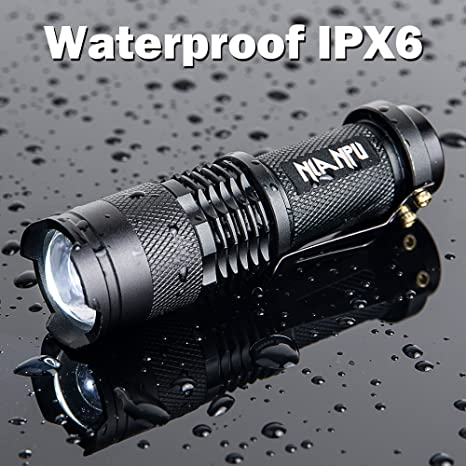 20000LM Q5 LED Tactical USB Flashlight Torch Light Zoomable Adjustable Focus  PK