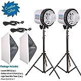 Harison Lucent 300-D Double Kit / Wedding Photography / Studio Flash Light Kit / Photographic Photo / Professional Photography Studio Equipment Kit