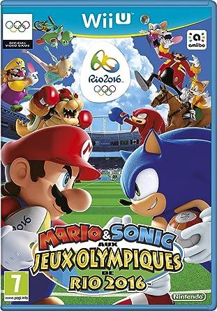 Mario Sonic Aux Jeux Olympiques De Rio 2016 Amazon Fr