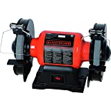 "Black+Decker BG1500BD 6"" Single Speed Bench Grinder,"