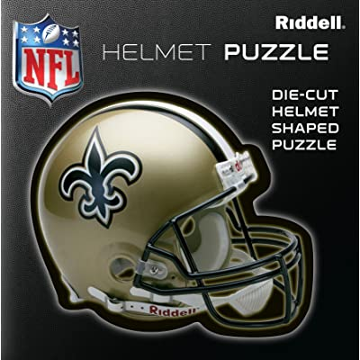 New Orleans Saints Team Helmet Puzzle: Toys & Games