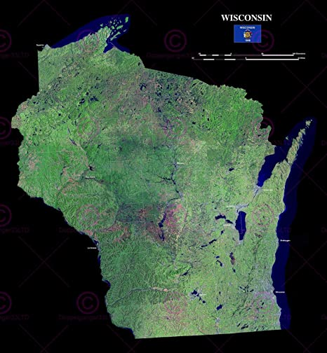 Amazon.com: Doppelganger33LTD MAP County Satellite USA State ... on elevation of wisconsin, road maps of wisconsin, physical maps of wisconsin, middleton wisconsin, satellite view, city map of wisconsin, printable maps of wisconsin, us maps of wisconsin, google maps of wisconsin, satellite world map, fifth grade maps of wisconsin, atlas of wisconsin, old maps of wisconsin, full page map of wisconsin, topographic maps of wisconsin, map of southeastern wisconsin, political of wisconsin, satellite map of earth,