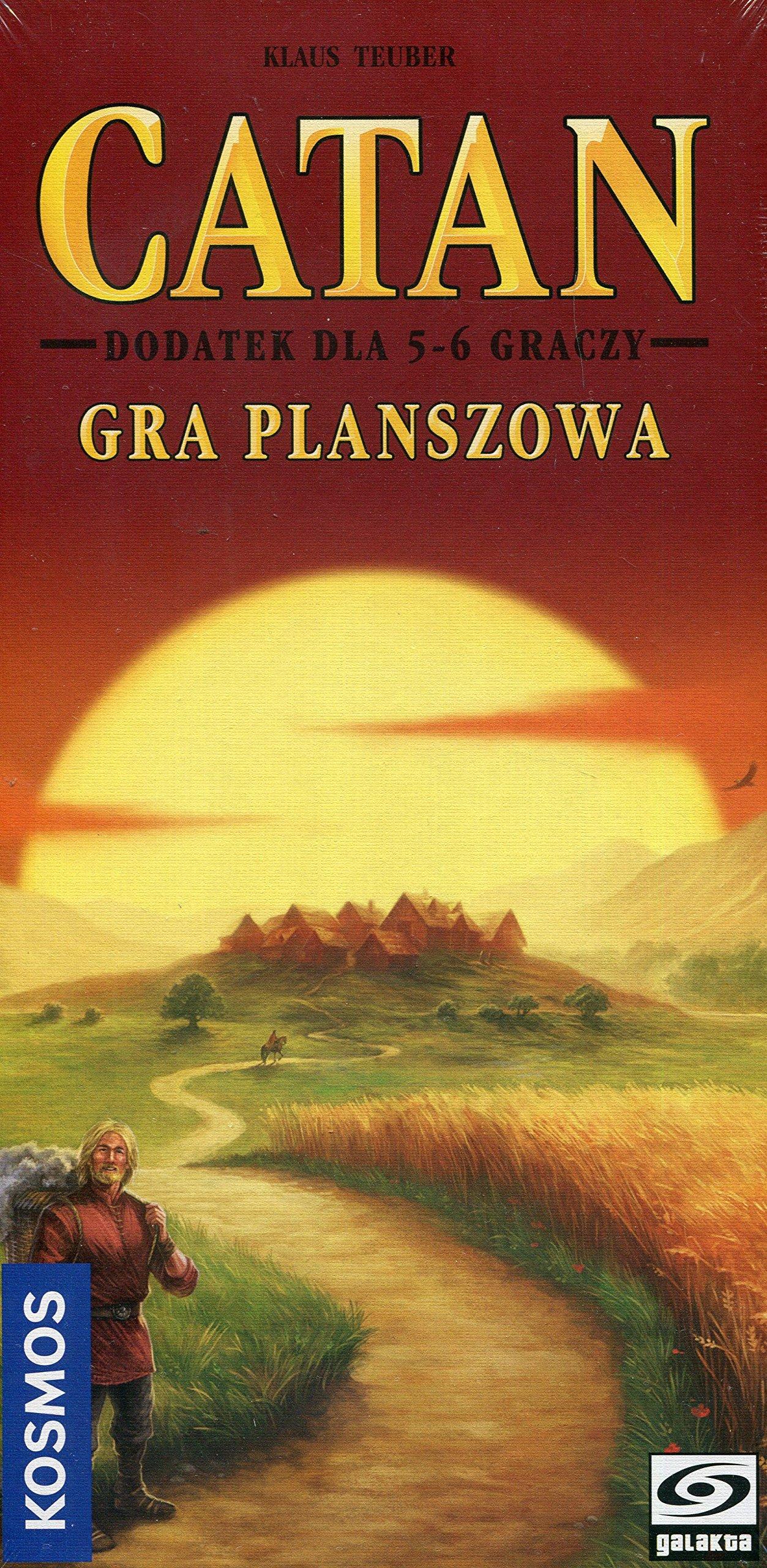 Catan dodatek dla 5-6 graczy: Amazon.es: Teuber, Klaus: Libros en idiomas extranjeros