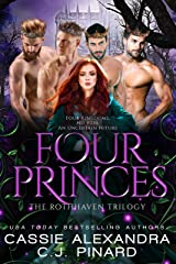 Four Princes: A Reverse Harem Fantasy (The Rothhaven Trilogy Book 1)