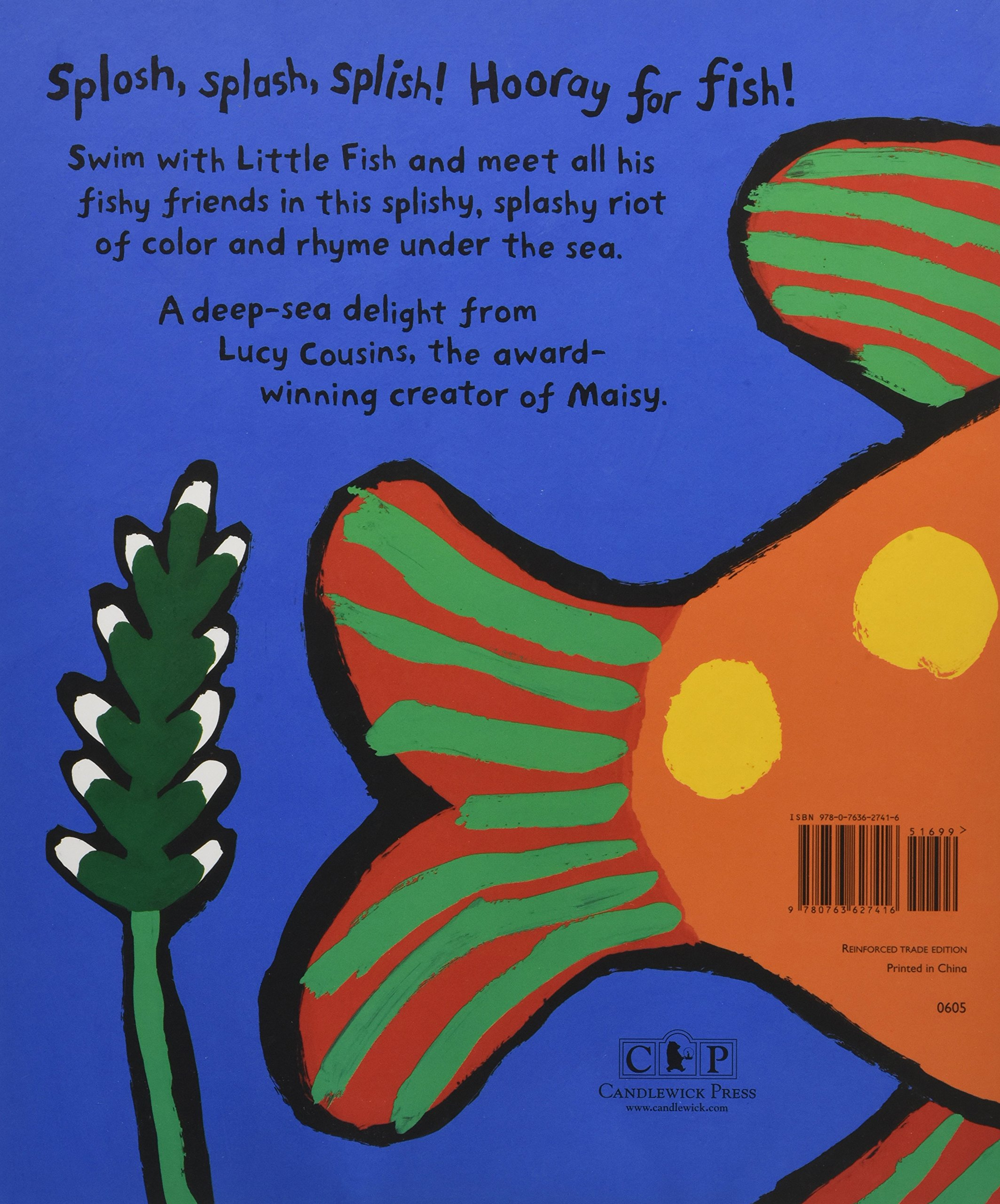 Amazon hooray for fish 9780763627416 lucy cousins books fandeluxe Gallery