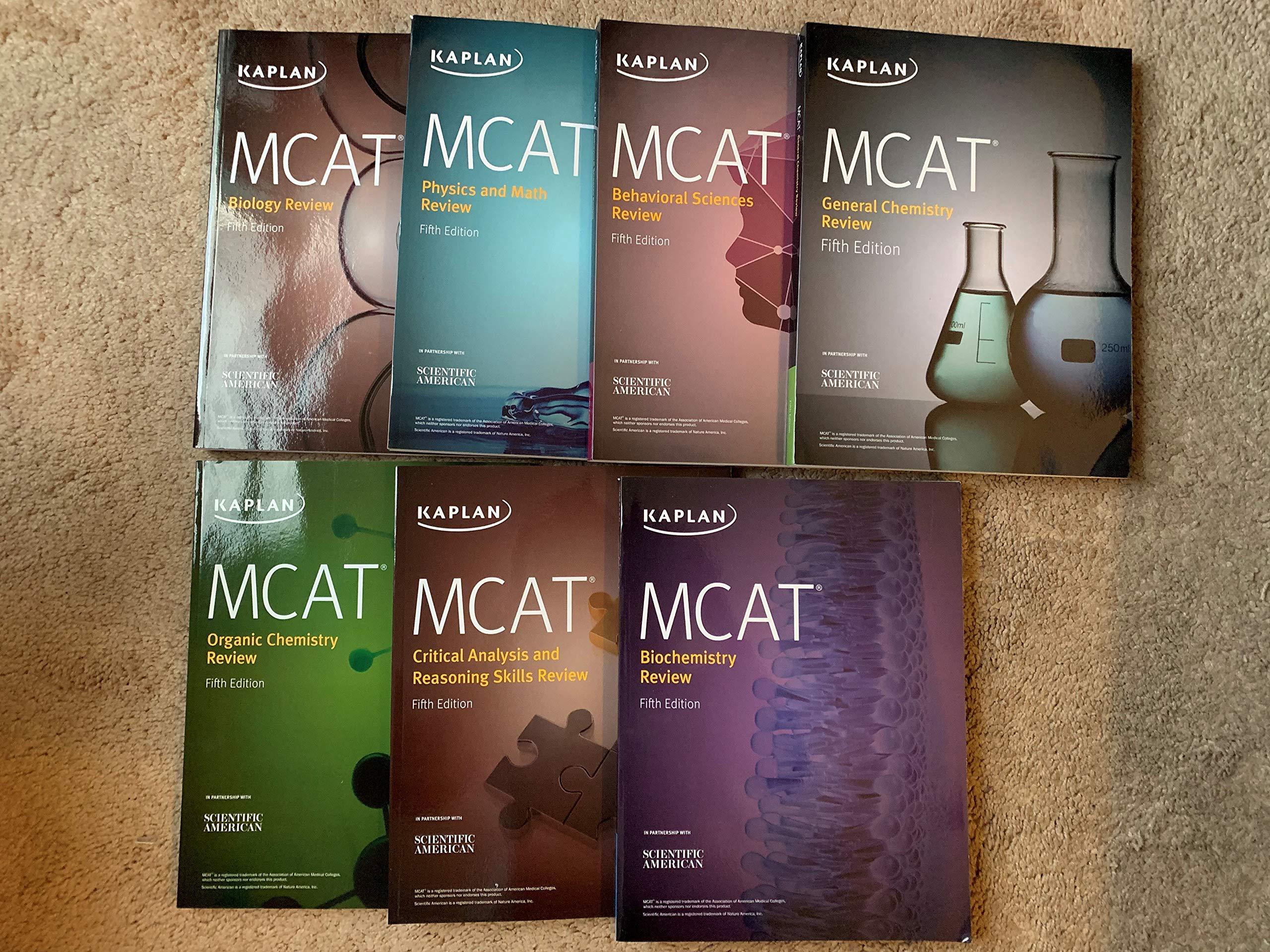 Kaplan Mcat Study Books 5th Edition For New Mcat 7 Books Alexander Stone Macnow Md Kaplan 9781506237770 Amazon Com Books