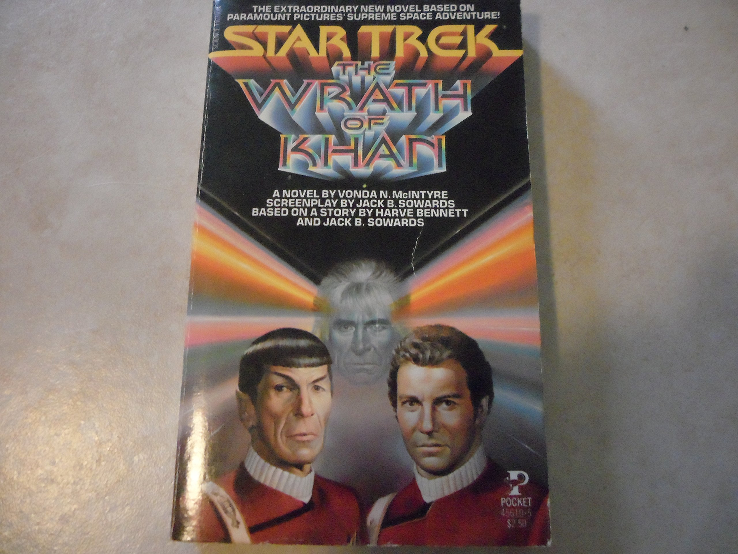 The Wrath of Khan (Star Trek), Vonda N. McIntyre (Adapter); Jack B. Sowards; Harve Bennett