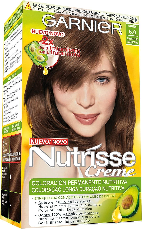 Garnier Nutrisse Coloración, Tono 60 Cannelle - 60 ml: Amazon ...