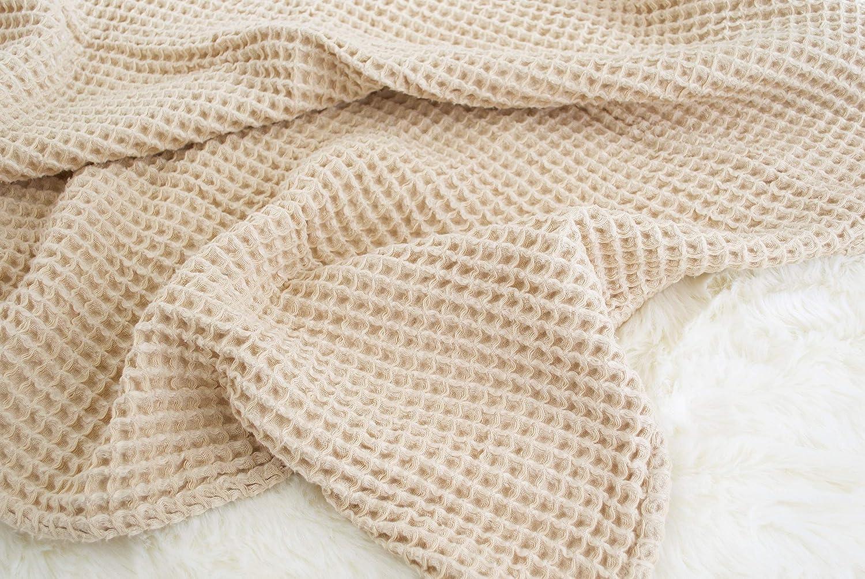 Amazon.com: Manta en arena (marrón claro o marrón), hecha de ...